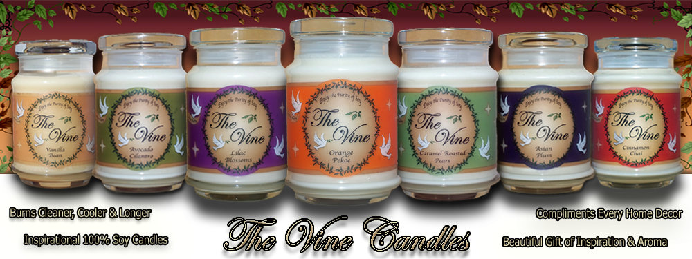 Scented Christian Soy Candles