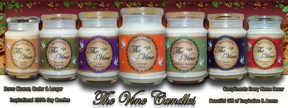 Scented Soy Candles and Soy Wax Melts